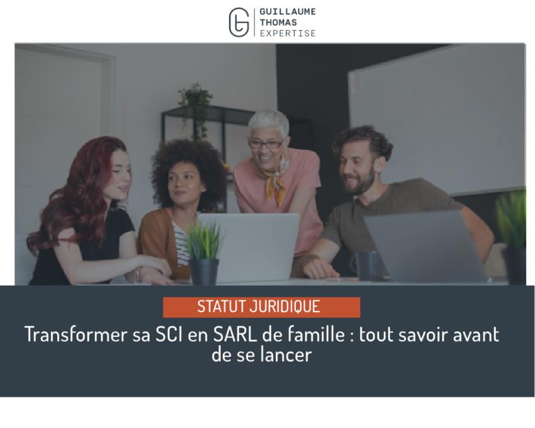 Transformer SCI en SARL de famille